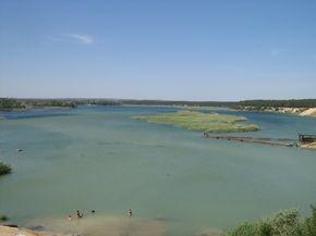 Вокруг Голубого озера.