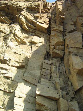 Месторождение плоского природного камня