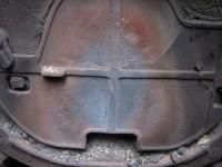 Трещины на отражателе котла Demrad Solitech