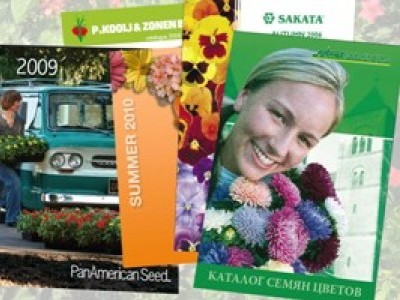 Каталоги и брошюры производителей профессиональных семян цветов